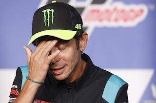 Gagal Menangi Titel Juara Dunia ke-10, Rossi Menyesal