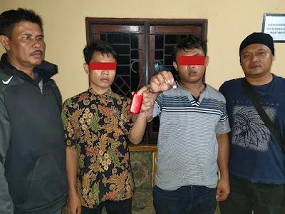 Unit Reskrim Polsek Panai Tengah Tangkap Dua Pria Miliki Sabu-sabu