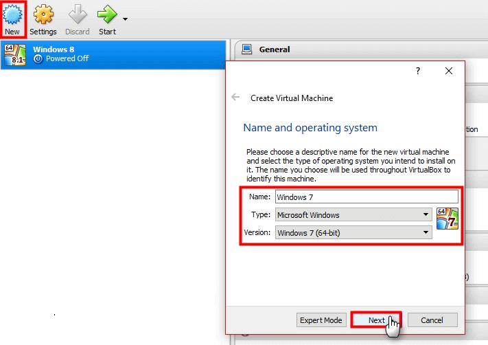 How to Install Windows 7 VM Inside Windows 10 with VirtualBox?