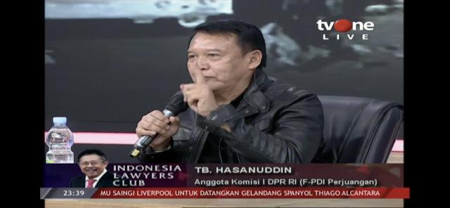 Polsek Ciracas Diserang, TB Hasanuddin: Tidak Mustahil Ini By Design