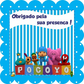 Para hacer Invitaciones, Tarjetas o Marcos para Imprimir Gratis de Dulce Pocoyó.