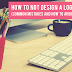 How to NOT design a logo (common mistakes and how to avoid them)