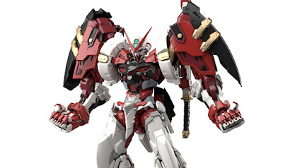 HiRM 1/100 Gundam Astray Red Frame Powered Red Official Images