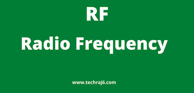 RF full form, What is the full form of RF