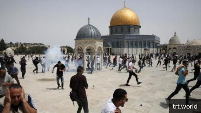Langgar Gencatan Senjata dengan Serang Masjid Al Aqsa, Israel Berdalih Membela Diri