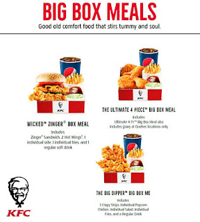 Catalogue KFC Menu Prices May 5 - Juni 30, 2017