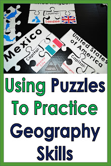 Using Puzzles to Practice Geography Skills