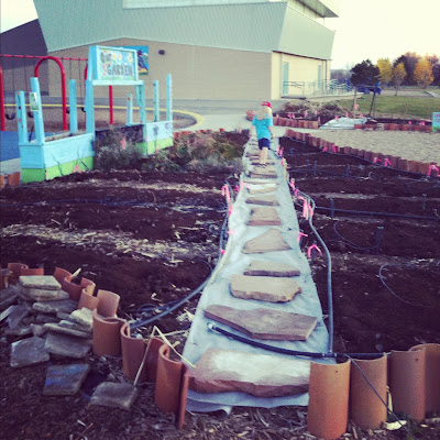 creating+garden+path - School Garden Program: Kindness Matters
