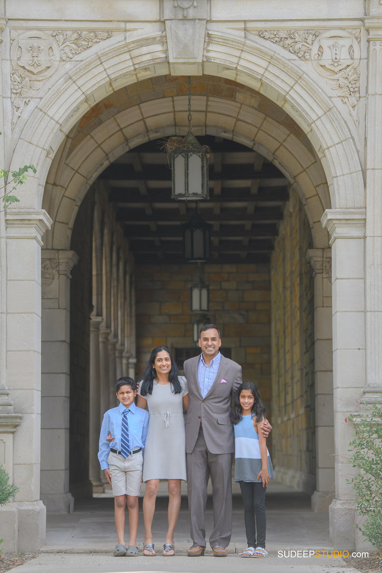 Ann Arbor Indian Family Portrait Photography in Spring Summer Outdoors SudeepStudio.com