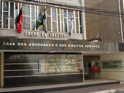 OAB-PB move mais de 500 ações para cobrar dívidas de advogados