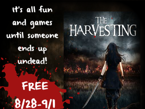The Harvesting is FREE on Amazon 8/28-9/1!