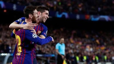 Messi's masterclass ends Man Utd's dream
