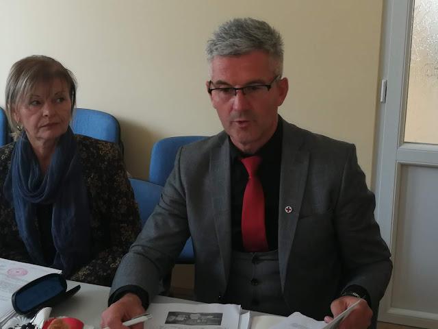 Бошко Митрашиновић, секретар Црвеног крста Војводине