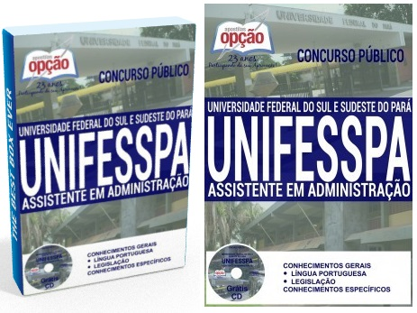 apostila Concurso Público Unifesspa 2018: Técnico-Administrativo