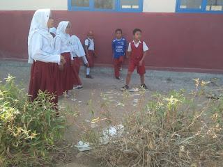 Lokasi Bermain Anak SDN 4 Pamalayan Berpotensi Membahayakan Siswa/ Siswi