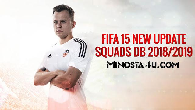 FIFA 15 NEW UPDATE SQUADS DB TRANSFERS 16/08/2018