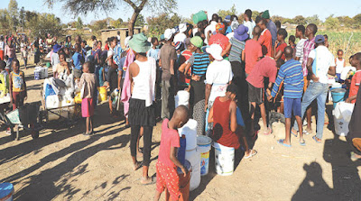 815b4ebd18 THE Bulawayo City Council has come under fire for its continued water  shedding regime after the local authority increased the shedding period by  a further ...