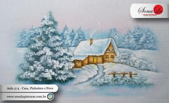 Aula 474 - Casa, Pinheiros e Neve