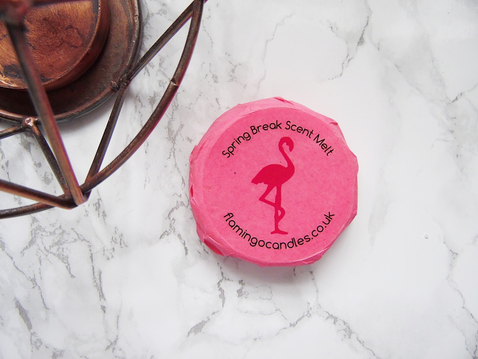 Flamingo Candles Spring Break Scent Melt