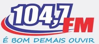 Rádio 104,7 FM de Niquelândia GO ao vivo