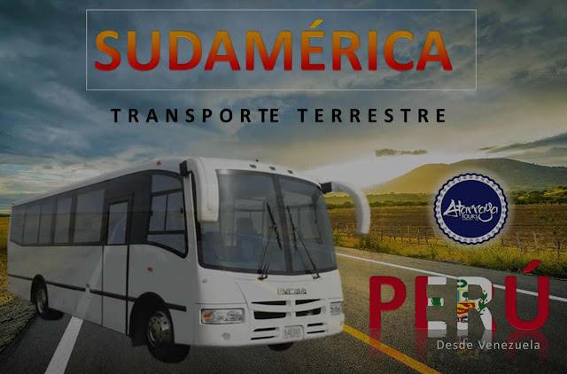 imagen  Bus desde venezuela a peru