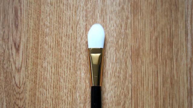 Long makeup brush