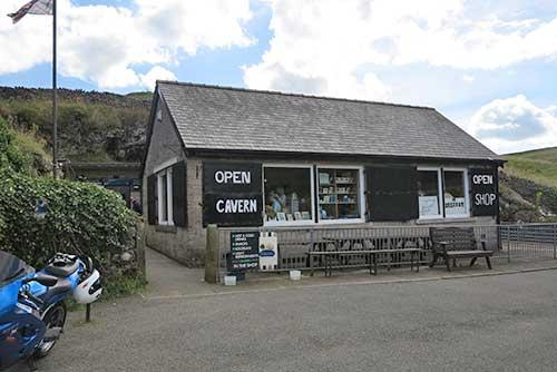 Blue John Cavern, Derbyshire.