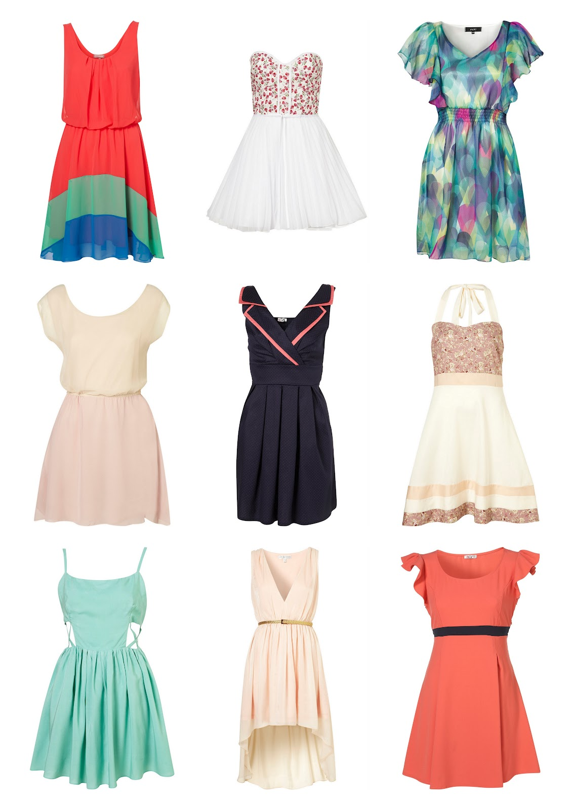 Summer Clothes For Teenage Girls: Paint Me Chic: Adorable Summer Dresses From TopShop