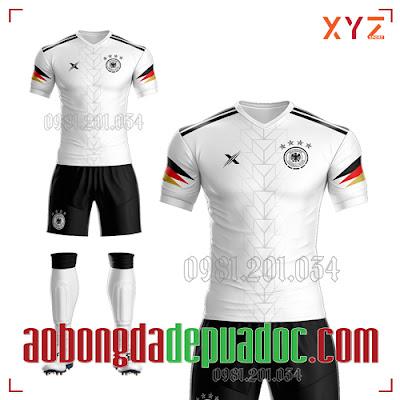 Áo Đức 2020 Training 1 Màu Trắng Đẹp Và Độc