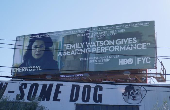 Emily Watson Chernobyl SAG Awards billboard