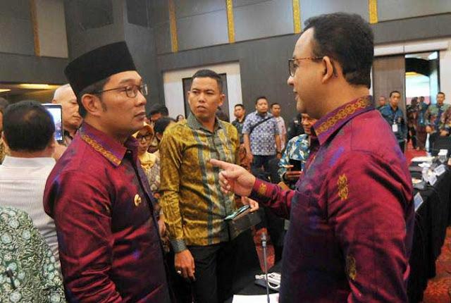Anies Baswedan-Ridwan Kamil Kompak Saling Beri Selamat, Ada Apa?