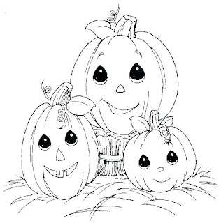 Printable 25 Halloween Pumpkin Coloring Pages Free 2018