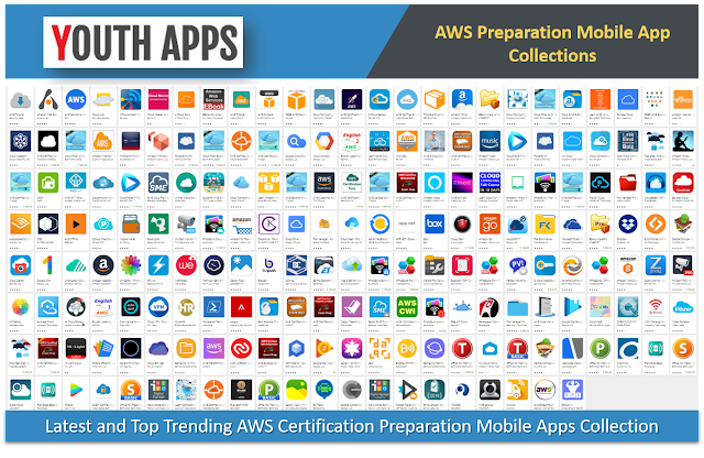 Latest AWS Certification Preparation Mobile Apps Collection - Youth Apps