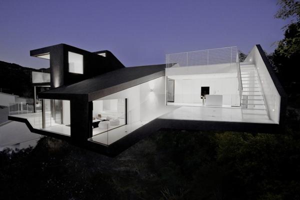House Of Herbastyle Elegant Black White Modern House Design