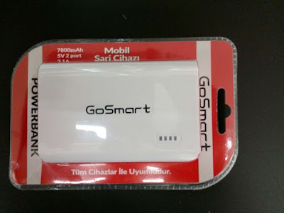 GoSmart 7800 5v 2 port mAh Powerbank İncelemesi