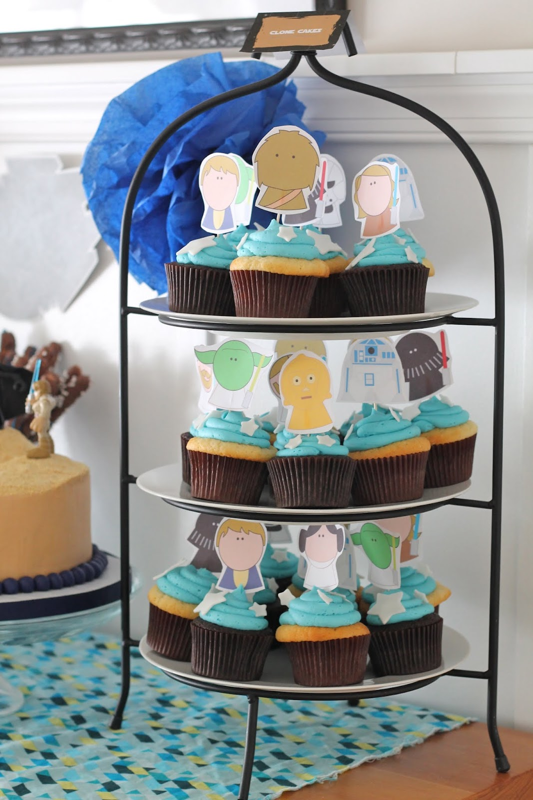 Star Wars Themed Baby Shower - welcometothemousehouse.com