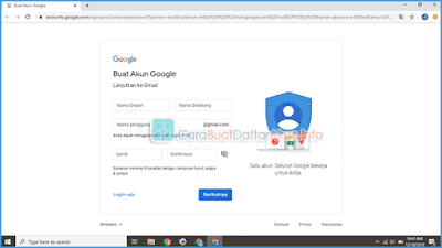 contoh membuat akun google di laptop windows 10