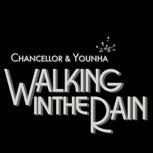 CHANCELLOR & YOUNHA WALKING IN THE RAIN