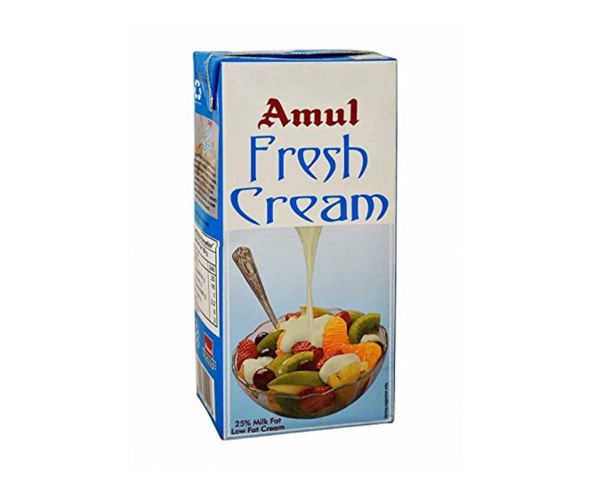 Amul whipping cream online