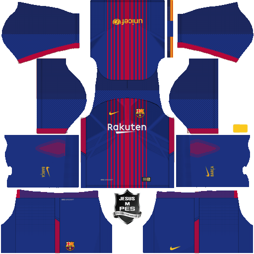 FTS 18 BOOTS AND KITS: FC Barcelona 2017/2018 Updated by