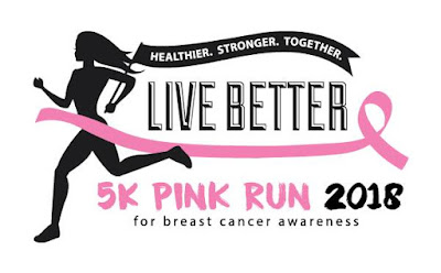 3rd annual Live Better 5K Pink Run