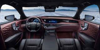 LS 500 Sedan Mewah dari Lexus