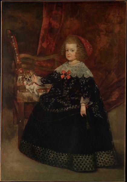 Диего Веласкес - Портрет Марии Терезы, принцессы Испании (1644-1645)
