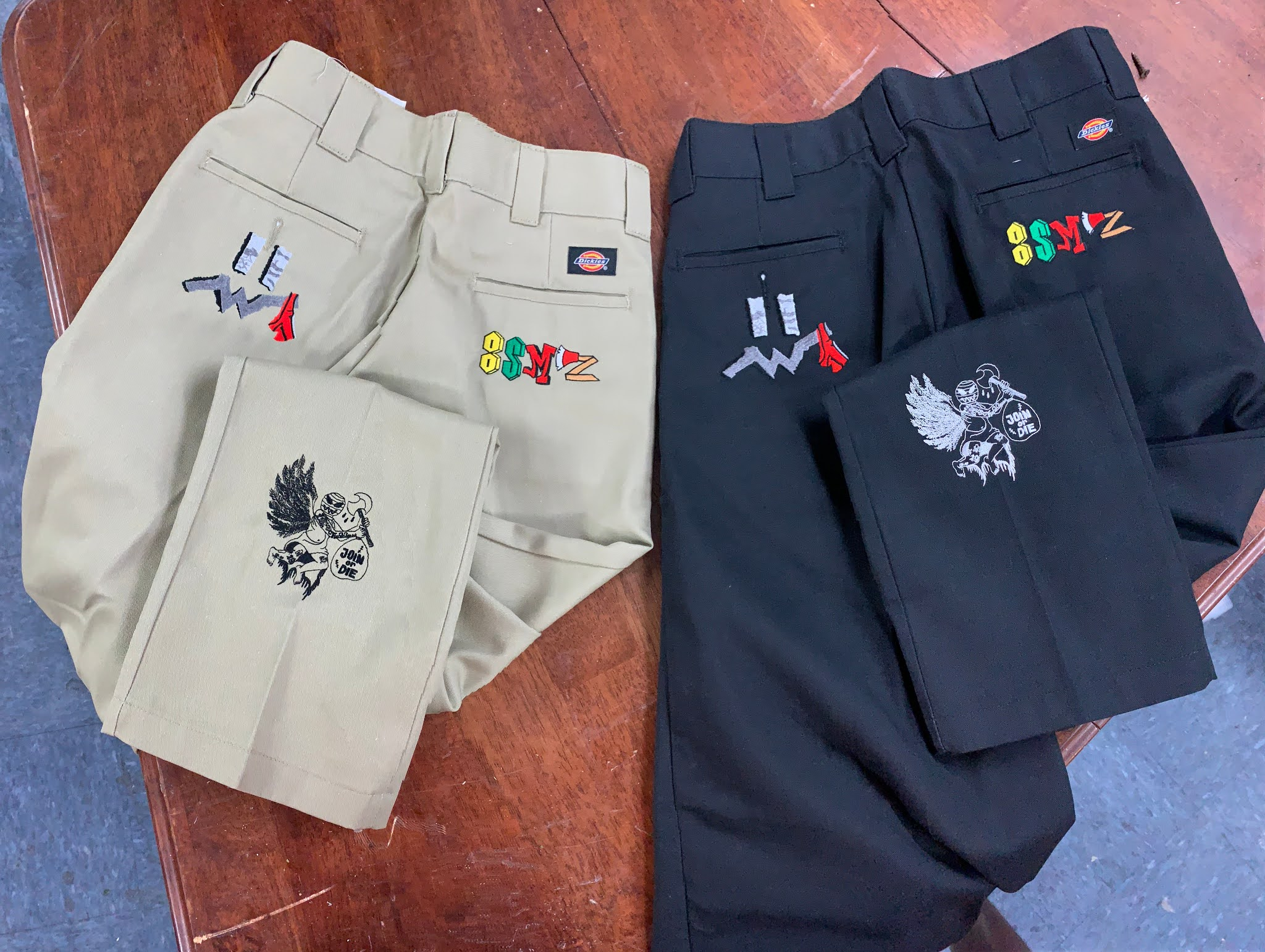 custom made streetwear