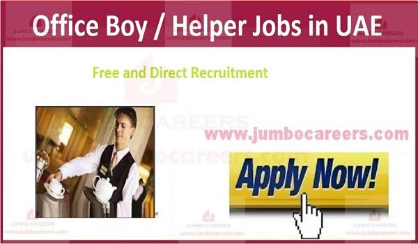 Current office jobs in UAE, Recent jobs in UAE,
