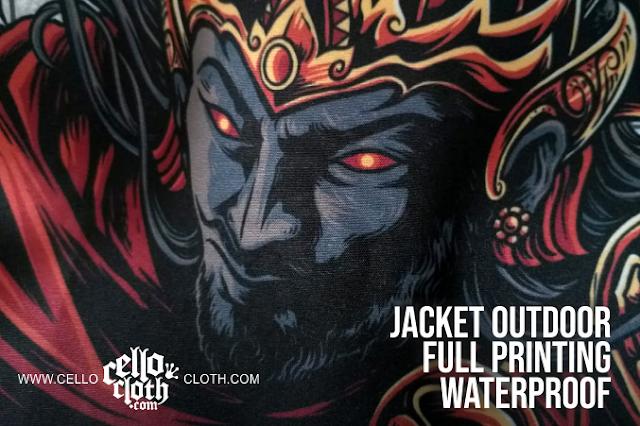Custom Jacket Full Printing FULL Color Waterproof Taslan Sublime