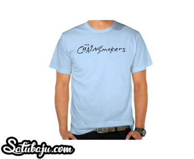 Kaos Musik The Chainsmokers - Satubaju.com