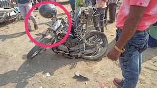 दुधी बाईपास पर भीषण सड़क दुर्घटना दो की मौत कुल 9 घायल पांच रेफर