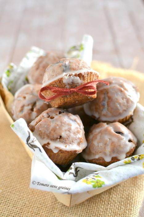 Muffins choco-amande sans lactose, sans gluten