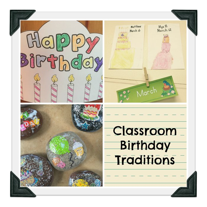 preschool and kindergarten classroom birthday traditions and routines